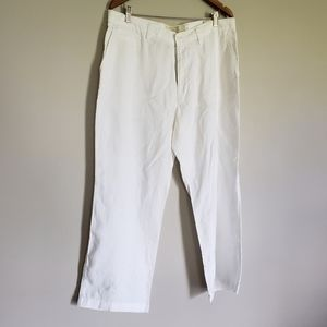 NWNT 100% linen wide legs pants women's